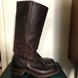 Frye Campus boot brown